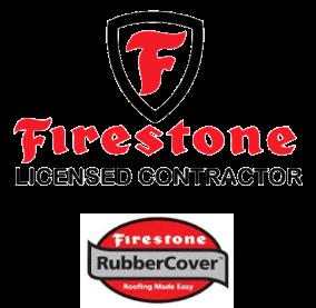 Firestone Flat rubber roofing Status Roofing Stoke